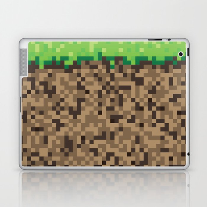 Minecraft Block Laptop Ipad Skin By Scottcolemandesign