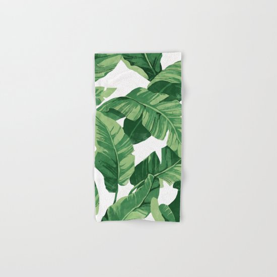 Tropical banana leaves IV by catyarte