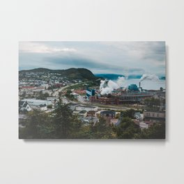 Cornerbrook NL Metal Print