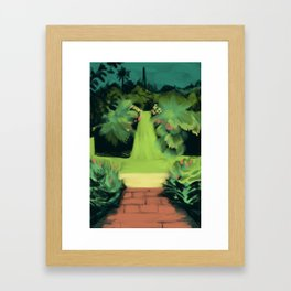 The Gardens of Lismore Castle Framed Art Print