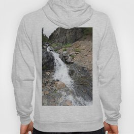 Waterfall below the Silver Cloud Mine, at 11,413 feet Hoody