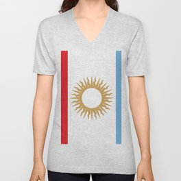 flag of Cordoba Unisex V-Neck