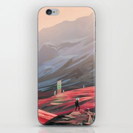 Alien Monolith iPhone Skin