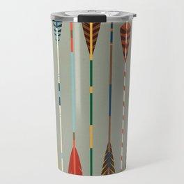 Vintage Arrows Travel Mug