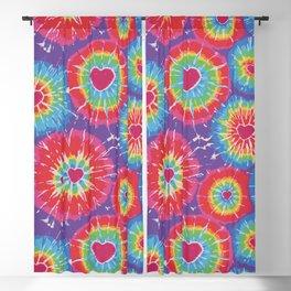 Love Tye Dye Blackout Curtain