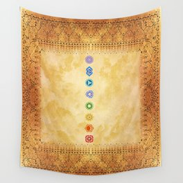 Chakras Kali | Beyond the time  Wall Tapestry