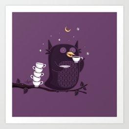 Coffee-Holic Art Print