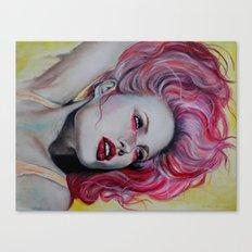 Pink Jolie Canvas Print