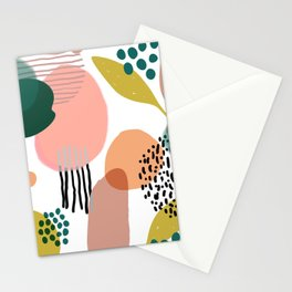 Abstract Modern Art Pattern 2 Stationery Cards