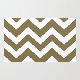 Gold Fusion - grey color - Zigzag Chevron Pattern Rug