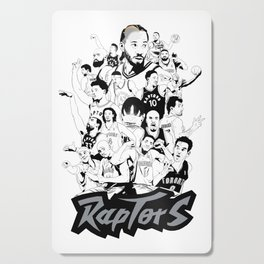 1995-2019 Raptors Cutting Board