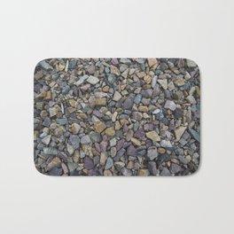 Pebbles on Lake Champlain Bath Mat