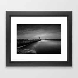 The Long Way Framed Art Print
