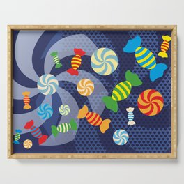 Rainbow Sugar Crush Serving Tray