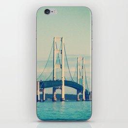 Mackinac Bridge iPhone Skin