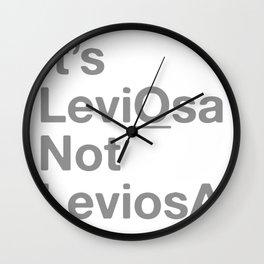 It's LeviOsa Not LeviosA Wall Clock