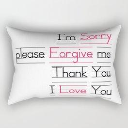 Ho oponopono Rectangular Pillow