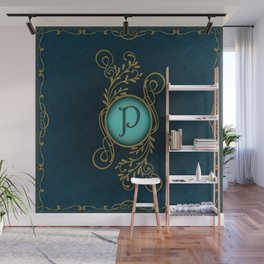 Letter P Wall Mural