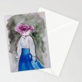 September girl (Flower girl) Stationery Cards