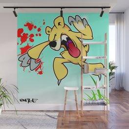 """illsurge : """"When Cute Bears Attack"""" Piece Wall Mural"""