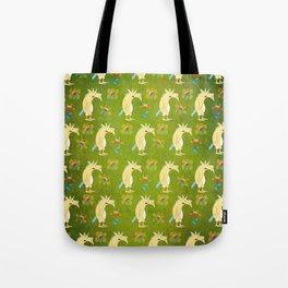 Flowers & Unicorns Tote Bag