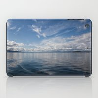 oslo iPad Cases featuring Infinite: Oslo Harbor by Patti Toth McCormick