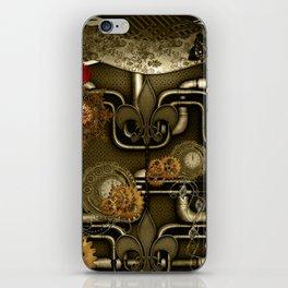 Wonderful noble steampunk design iPhone Skin