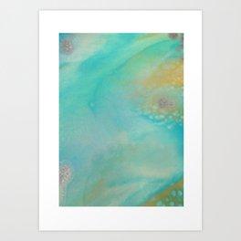 Aqua Essence Art Print