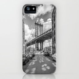 NEW YORK CITY Manhattan Bridge iPhone Case