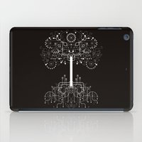 gondor iPad Cases featuring The White Tree by Danny Schlitz