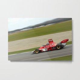 Niki Laudas Ferrari 312 - 1974 Metal Print