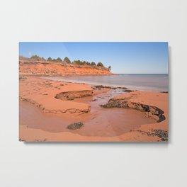 Doyles Cove Beach Metal Print