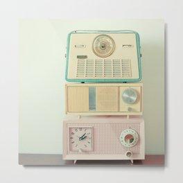 Radio Stations Metal Print