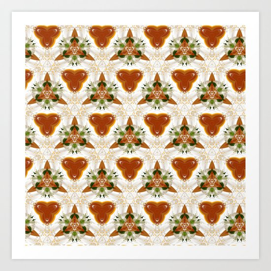 Good Morning Pattern Art Print