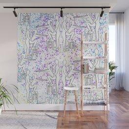 Funfetti Friends Wall Mural
