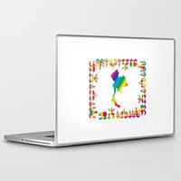 thailand Laptop & iPad Skins featuring Rainbow Thailand by FACTORIE