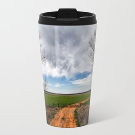 Take Me Home - Old Country Road in Oklahoma Travel Mug