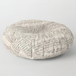US Constitution - United States Bill of Rights Floor Pillow