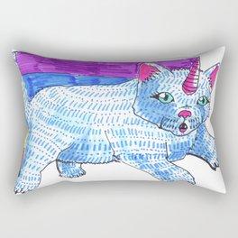 unicat catcorn kakakawaii cat unicorn Rectangular Pillow
