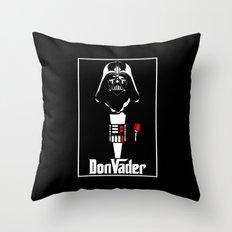 DonVader Throw Pillow