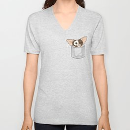 Pocket Gizmo (Mogwai) Unisex V-Neck