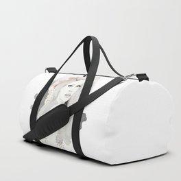 Copper & Grey Duffle Bag