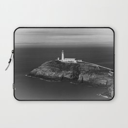South Stack Lighthouse - Mono Laptop Sleeve