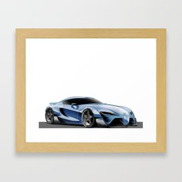 Ft-1Concept car Framed Art Print