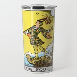 00 - The Fool Travel Mug