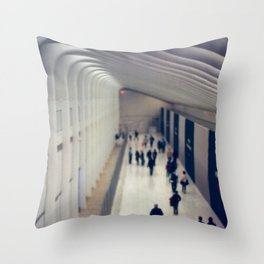 World Trade Center, Freedom Tower Transit Center Throw Pillow