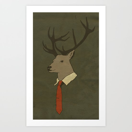 Young Professional  Art Print