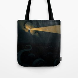 Good job leading that ship onto the rocks dude, high five! Tote Bag