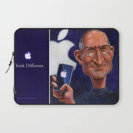 Steve Jobs: Think Different Laptop Sleeve