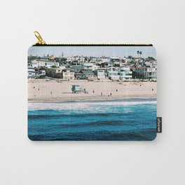 Manhattan Beach, L.A. Carry-All Pouch